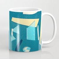 marine Mugs featuring marine by Carlos Castro Perez