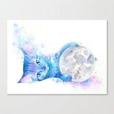Intergalactic Gato  Canvas Print