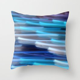 Life Blur Throw Pillow