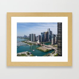 Lake Shore Drive, 2018 Framed Art Print