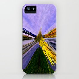 Abstracting Autumn iPhone Case