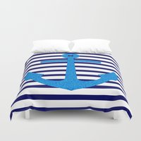 sail Duvet Covers featuring Sail by M Studio