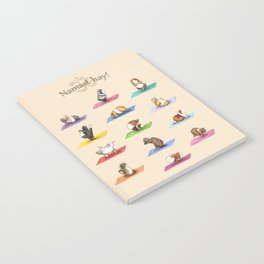 The Yoguineas - Yoga Guinea Pigs - Namast-hay! Notebook