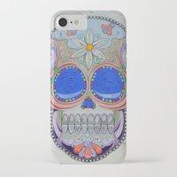 calavera iPhone & iPod Cases featuring Calavera by Jared Bretholtz