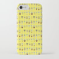 spongebob iPhone & iPod Cases featuring spongebob  , spongebob  games, spongebob  blanket, spongebob  duvet cover by ira gora