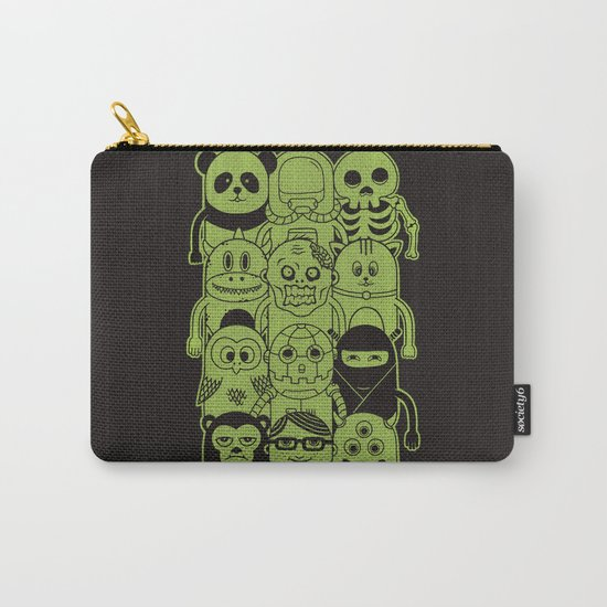 Famous Characters Carry-All Pouch