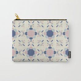Pastel Tile Carry-All Pouch