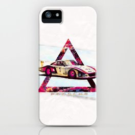 "Porsche 935/78 ""Moby Dick"" // Le Mans Race Cars iPhone Case"