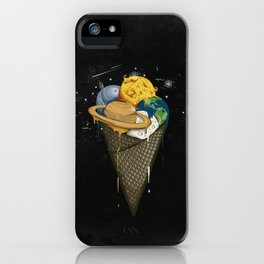 Galactic Ice Cream iPhone Case