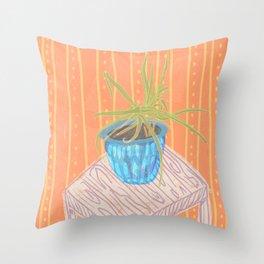 Plant Study II Throw Pillow