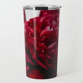 PEONIES RED CLUSTER Travel Mug