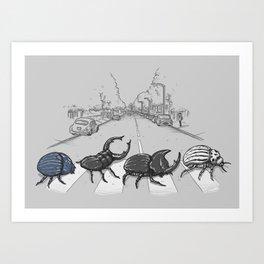The Beetles Art Print