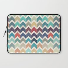 Watercolor Chevron Pattern Laptop Sleeve