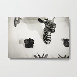 The Quiet Zoo Metal Print
