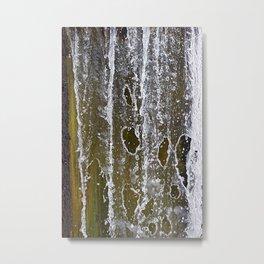 Holey Water Metal Print