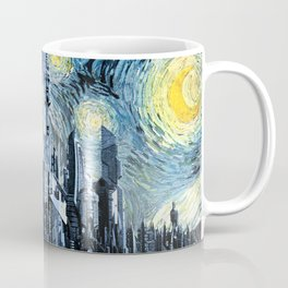 Starry Night Over Atlantis Coffee Mug