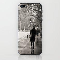New York City - Rain iPhone & iPod Skin