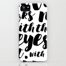About love iPhone Case