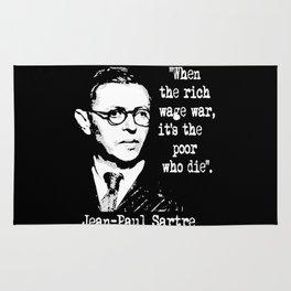 J P Sartre Rug