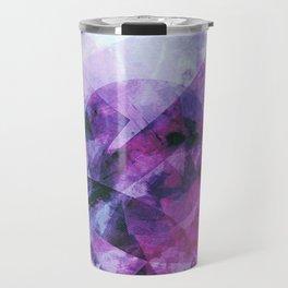 Precipice in Purple II Travel Mug
