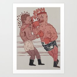 fight night Art Print
