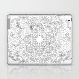 soft colored mandala pattern Laptop & iPad Skin