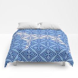 BLUE WHITE WEIM Comforters