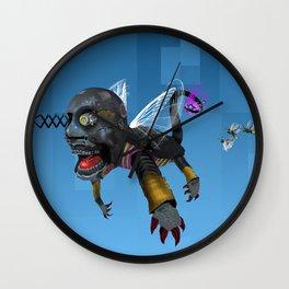 Reverse circus Wall Clock