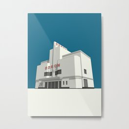ODEON Balham Metal Print