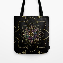 Mandala of Wishes Tote Bag