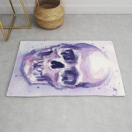 Skull Watercolor Skulls Rug