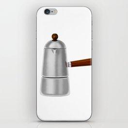 Carmencita. Vintage Italian coffee maker iPhone Skin