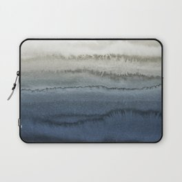 WITHIN THE TIDES - CRUSHING WAVES BLUE Laptop Sleeve