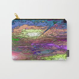 Technicolor Puddles Carry-All Pouch