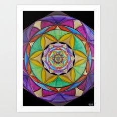 Microcosm Art Print