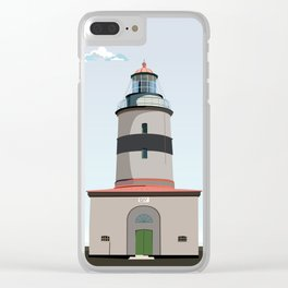The lighthouse of Falsterbo Clear iPhone Case