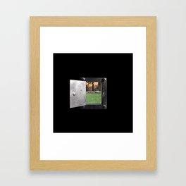 Secret Door Framed Art Print