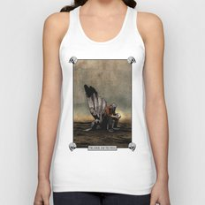 The Angel And The Skull Unisex Tank Top