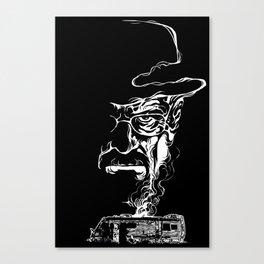 Heisenberg Smoke Canvas Print