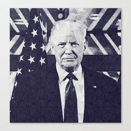 Donalt Trump Canvas Print