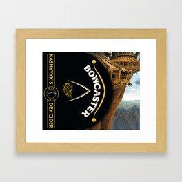 Bowcaster Dry Cider Framed Art Print
