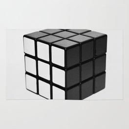Minimalist Rubik's cube Rug