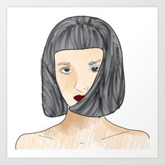 face II Art Print