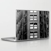 building Laptop & iPad Skins featuring Building by Conor O'Mara