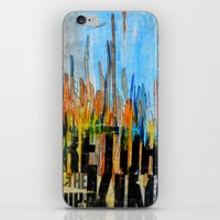 return iPhone & iPod Skins featuring Return by silvsstang