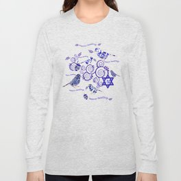 Hanukkah Seasons Tweetings  Long Sleeve T-shirt