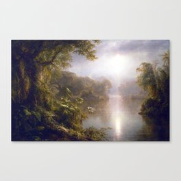 Frederic Edwin Church The River of Light Canvas Print
