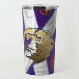 Monky Cross Bones Travel Mug