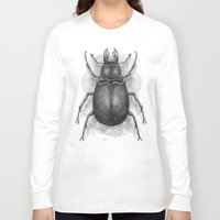 beetle Long Sleeve T-shirts featuring Beetle by Salih Gonenli