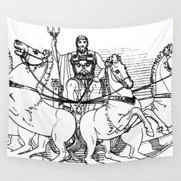 Poseidon 1795 Wall Tapestry